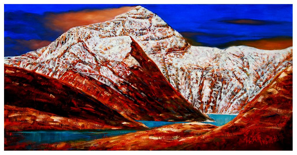 应为平油画风景作品 - 大众艺术网